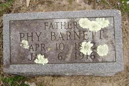 BARNETT, PHY - Washington County, Arkansas | PHY BARNETT - Arkansas Gravestone Photos