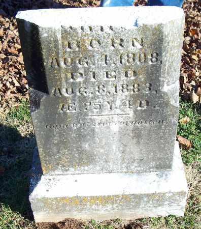 BARNETT, WILSON [BOTTOM OF STONE] - Washington County, Arkansas | WILSON [BOTTOM OF STONE] BARNETT - Arkansas Gravestone Photos