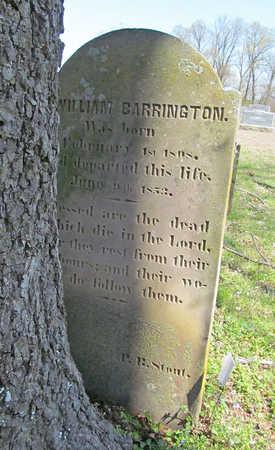 BARRINGTON, WILLIAM - Washington County, Arkansas | WILLIAM BARRINGTON - Arkansas Gravestone Photos