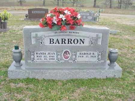 BARRON, WANDA JEAN - Washington County, Arkansas | WANDA JEAN BARRON - Arkansas Gravestone Photos