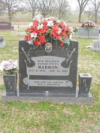BARRON, HAROLD STEVEN - Washington County, Arkansas | HAROLD STEVEN BARRON - Arkansas Gravestone Photos