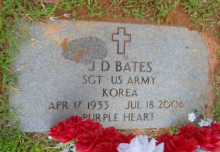 BATES (VETERAN KOR), J.D. - Washington County, Arkansas | J.D. BATES (VETERAN KOR) - Arkansas Gravestone Photos