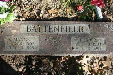 BATTENFIELD, FRANTZ - Washington County, Arkansas | FRANTZ BATTENFIELD - Arkansas Gravestone Photos
