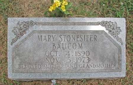 STONESIFER BAUCOM, MARY - Washington County, Arkansas | MARY STONESIFER BAUCOM - Arkansas Gravestone Photos
