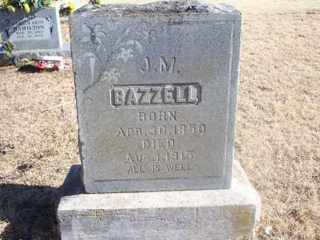 BAZZELL, J. M. - Washington County, Arkansas | J. M. BAZZELL - Arkansas Gravestone Photos