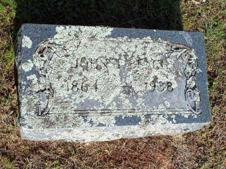 BEACH, JOHN T. - Washington County, Arkansas | JOHN T. BEACH - Arkansas Gravestone Photos