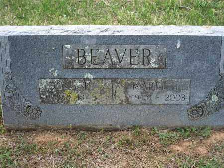 BEAVER, MABEL L. - Washington County, Arkansas | MABEL L. BEAVER - Arkansas Gravestone Photos