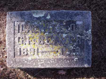 BEAVER, ILA - Washington County, Arkansas   ILA BEAVER - Arkansas Gravestone Photos