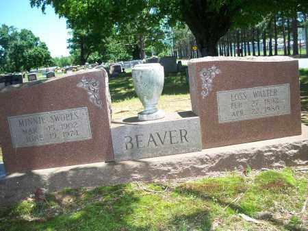 BEAVER, LOSS WALTER - Washington County, Arkansas | LOSS WALTER BEAVER - Arkansas Gravestone Photos