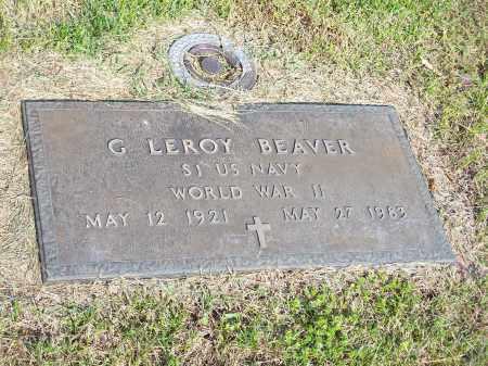 BEAVER (VETERAN WWII), G LEROY - Washington County, Arkansas   G LEROY BEAVER (VETERAN WWII) - Arkansas Gravestone Photos