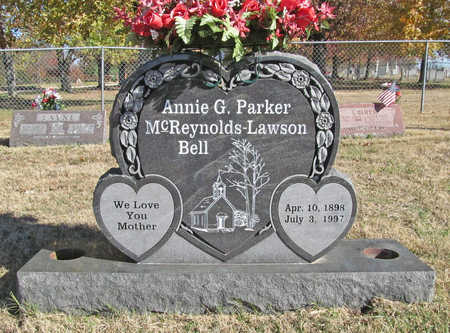 PARKER BELL, ANNIE G - Washington County, Arkansas | ANNIE G PARKER BELL - Arkansas Gravestone Photos