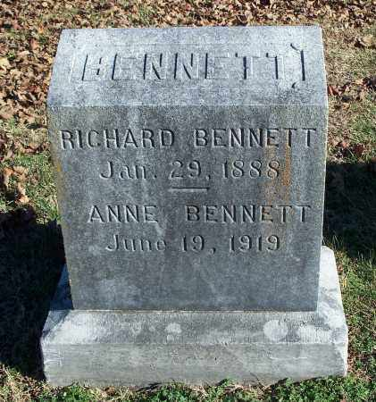 BENNETT, RICHARD - Washington County, Arkansas | RICHARD BENNETT - Arkansas Gravestone Photos