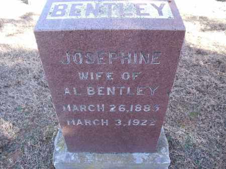 BENTLEY, JOSEPHINE - Washington County, Arkansas | JOSEPHINE BENTLEY - Arkansas Gravestone Photos