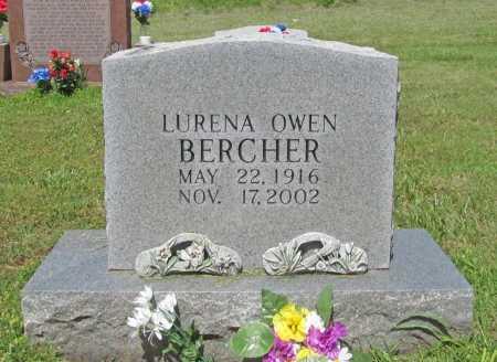 BERCHER, LURENA OWEN - Washington County, Arkansas   LURENA OWEN BERCHER - Arkansas Gravestone Photos