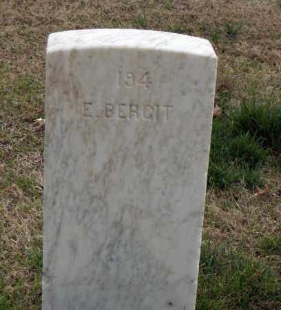 BERGIT (VETERAN), E - Washington County, Arkansas | E BERGIT (VETERAN) - Arkansas Gravestone Photos