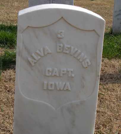 BEVINS (VETERAN UNION), ALVA - Washington County, Arkansas   ALVA BEVINS (VETERAN UNION) - Arkansas Gravestone Photos