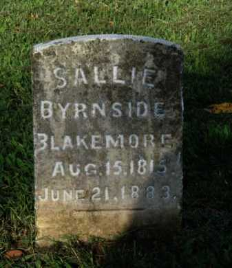BLAKEMORE, SALLIE - Washington County, Arkansas | SALLIE BLAKEMORE - Arkansas Gravestone Photos