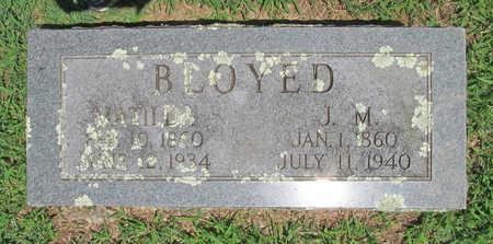 BLOYED, J M - Washington County, Arkansas | J M BLOYED - Arkansas Gravestone Photos