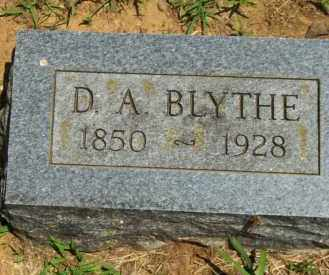 BLYTHE, D. A. - Washington County, Arkansas | D. A. BLYTHE - Arkansas Gravestone Photos