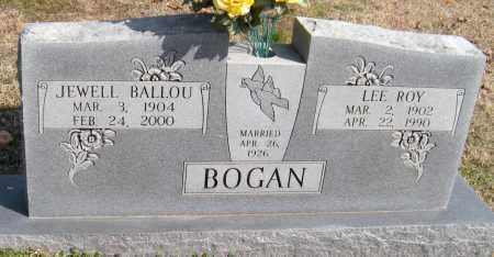 BALLOU BOGAN, JEWELL - Washington County, Arkansas   JEWELL BALLOU BOGAN - Arkansas Gravestone Photos