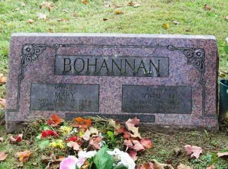 BOHANNAN, MARY - Washington County, Arkansas | MARY BOHANNAN - Arkansas Gravestone Photos