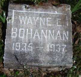 BOHANNAN, WAYNE E. - Washington County, Arkansas | WAYNE E. BOHANNAN - Arkansas Gravestone Photos