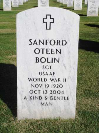BOLIN  (VETERAN WWII), SANFORD OTEEN - Washington County, Arkansas | SANFORD OTEEN BOLIN  (VETERAN WWII) - Arkansas Gravestone Photos
