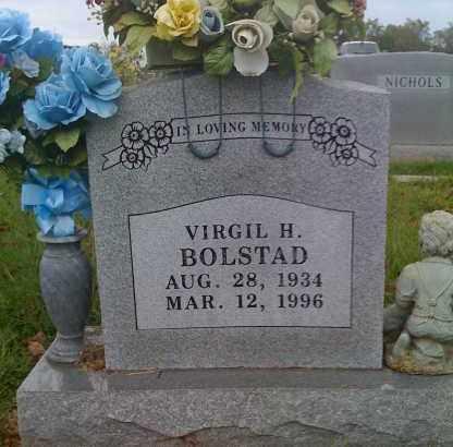 BOLSTAD, VIRGIL H. - Washington County, Arkansas | VIRGIL H. BOLSTAD - Arkansas Gravestone Photos