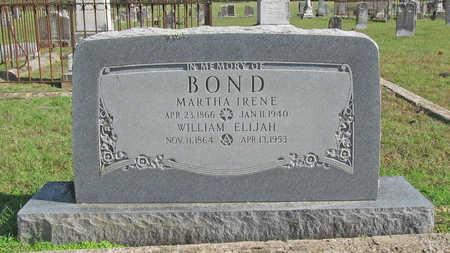 SIMPSON BOND, MARTHA IRENE - Washington County, Arkansas | MARTHA IRENE SIMPSON BOND - Arkansas Gravestone Photos