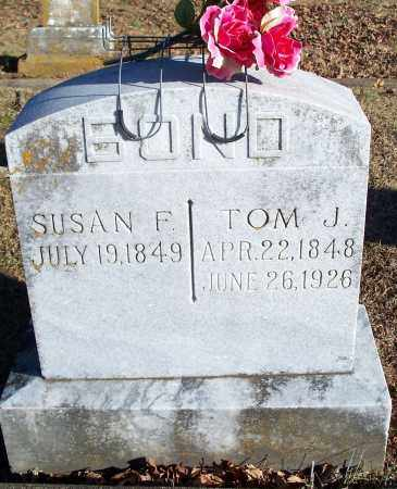 BOND, TOM J. - Washington County, Arkansas | TOM J. BOND - Arkansas Gravestone Photos