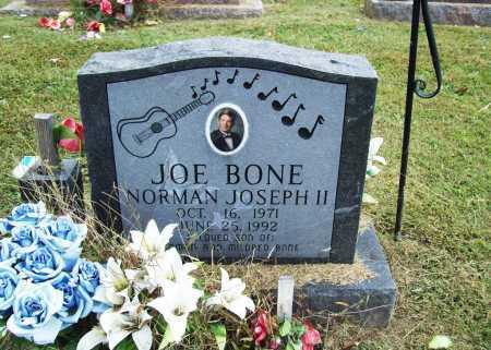 "BONE, NORMAN JOSEPH II ""JOE"" - Washington County, Arkansas | NORMAN JOSEPH II ""JOE"" BONE - Arkansas Gravestone Photos"
