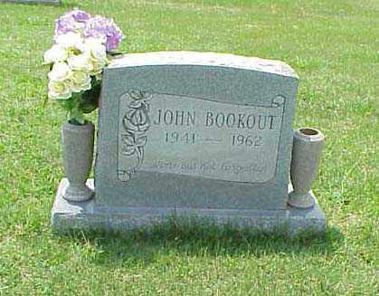 BOOKOUT, JOHN - Washington County, Arkansas | JOHN BOOKOUT - Arkansas Gravestone Photos