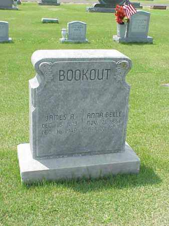 BOOKOUT, JAMES A. - Washington County, Arkansas | JAMES A. BOOKOUT - Arkansas Gravestone Photos