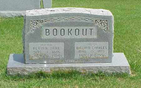 BOOKOUT, WILLIAM CHARLES - Washington County, Arkansas | WILLIAM CHARLES BOOKOUT - Arkansas Gravestone Photos