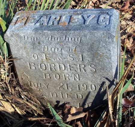 BORDERS, PEARLEY G. - Washington County, Arkansas | PEARLEY G. BORDERS - Arkansas Gravestone Photos