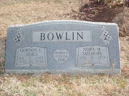 SIZEMORE BOWLIN, NORA MAE - Washington County, Arkansas   NORA MAE SIZEMORE BOWLIN - Arkansas Gravestone Photos