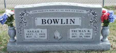 BOWLIN, TRUMAN KYLE - Washington County, Arkansas   TRUMAN KYLE BOWLIN - Arkansas Gravestone Photos
