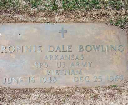 BOWLING (VETERAN VIET), RONNIE DALE - Washington County, Arkansas | RONNIE DALE BOWLING (VETERAN VIET) - Arkansas Gravestone Photos