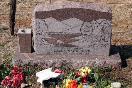 BOYD, SAMMY WAYNE - Washington County, Arkansas   SAMMY WAYNE BOYD - Arkansas Gravestone Photos