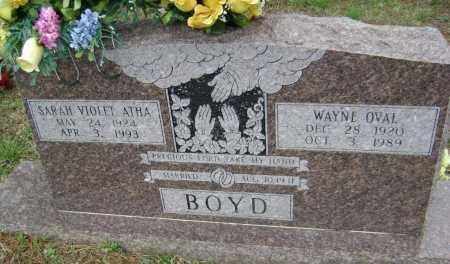 BOYD, SARAH VIOLET - Washington County, Arkansas | SARAH VIOLET BOYD - Arkansas Gravestone Photos