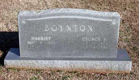 BOYNTON, HARRIET - Washington County, Arkansas | HARRIET BOYNTON - Arkansas Gravestone Photos