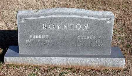 BOYNTON, HARRIET - Washington County, Arkansas | HARRIET BOYNTON - Arkansas Gravestone Photos