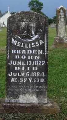 BRADEN, MELLISSA - Washington County, Arkansas | MELLISSA BRADEN - Arkansas Gravestone Photos