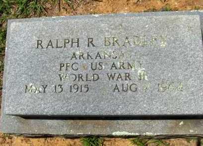 BRADLEY (VETERAN WWII), RALPH R - Washington County, Arkansas | RALPH R BRADLEY (VETERAN WWII) - Arkansas Gravestone Photos