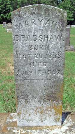 BRADSHAW, MARY ANN - Washington County, Arkansas | MARY ANN BRADSHAW - Arkansas Gravestone Photos