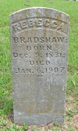 BRADSHAW, REBECCA - Washington County, Arkansas | REBECCA BRADSHAW - Arkansas Gravestone Photos