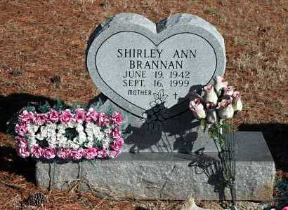BRANNAN, SHIRLEY ANN - Washington County, Arkansas | SHIRLEY ANN BRANNAN - Arkansas Gravestone Photos