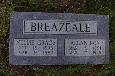 BREAZEALE, NELLIE GRACE - Washington County, Arkansas | NELLIE GRACE BREAZEALE - Arkansas Gravestone Photos
