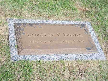 BREWER, DOROTHY V. - Washington County, Arkansas   DOROTHY V. BREWER - Arkansas Gravestone Photos