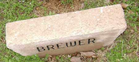 BREWER, UNKNOWN - Washington County, Arkansas | UNKNOWN BREWER - Arkansas Gravestone Photos